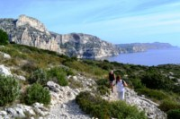 calanques national park south France walking