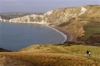 worbarrow cliffs self guided walking holiday Dorset UK