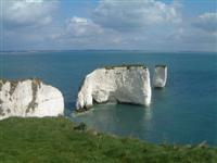 Old hARRY rocks south England coast independent walking