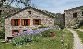 Entre terre et ciel guest house Baronnies Provence France guided walking holiday