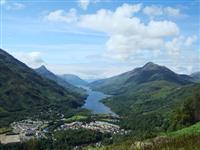 kinlochleven independent walking holiday west highland way scotland