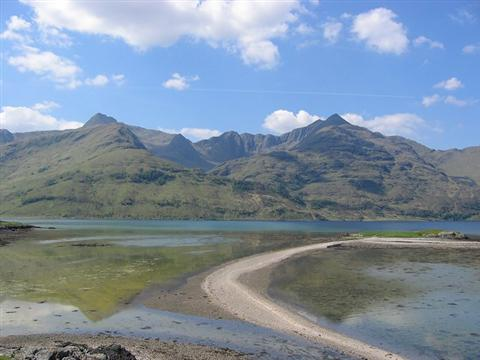 knoydart peninsula britains last wilderness self guided walking holiday highlands of Scotland