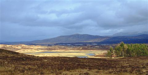 rannoch moor independent trekking holiday west highland way scotland