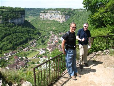 above baume les messieurs Jura France guided walking holiday