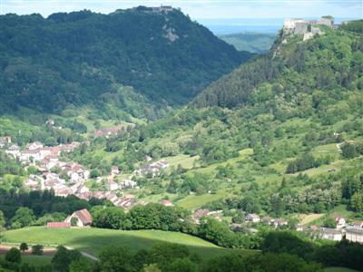 salins les bains guided walking holiday in Jura France