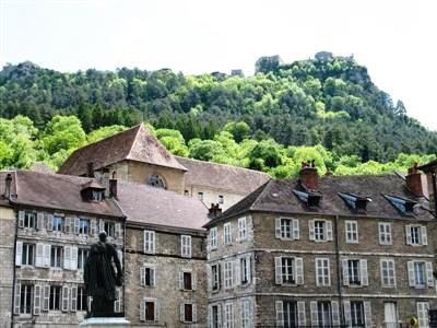 Salins les bains Jura hills wine France guided walking tours
