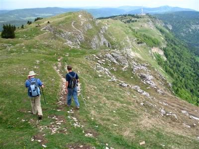 Haut Jura guided walking holidays France Europe