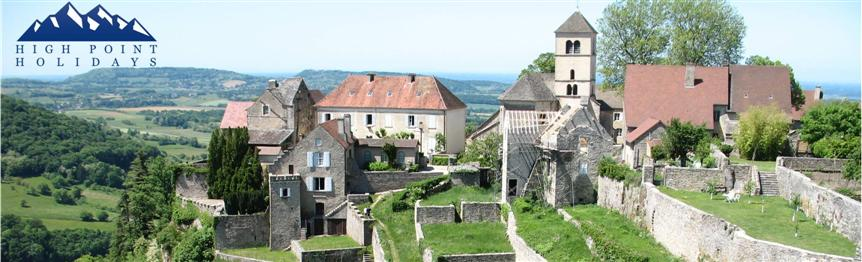 High Point Holidays walking holidays jura landscapes chateau chalon