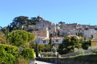 bonnieux hill top historic village in Luberon Provence