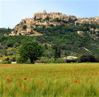 gordes luberon provence walking holidays in france