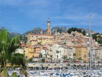 Menton independent walking holiday alps to med France