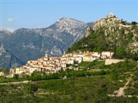 independent walking holiday France sainte agnes mountains and mediterranean coast