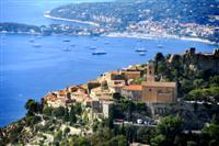 panoramic views on independent walking holiday cot d'azur
