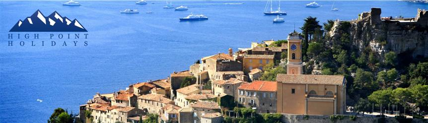 High Point Holidays walking holidays on cote d'azur or french riviera France
