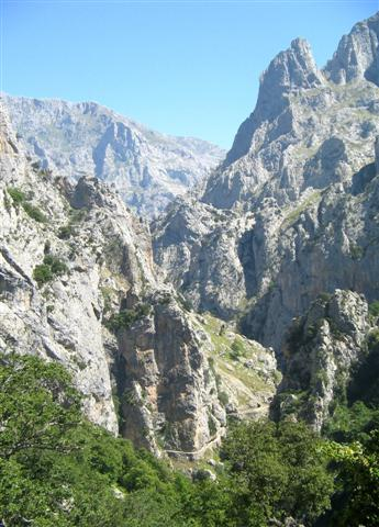 Cares gorge Picos de Europa Spain guided walking holiday