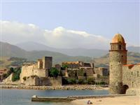 collioure med coast walking holiday