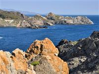 med coast on walking holiday in south france pyrenees
