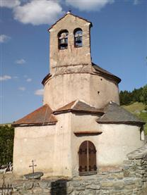 eglise de planes in cerdagne independent walking holiday pyrenees