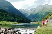 self guided walking in pyrenees mountains
