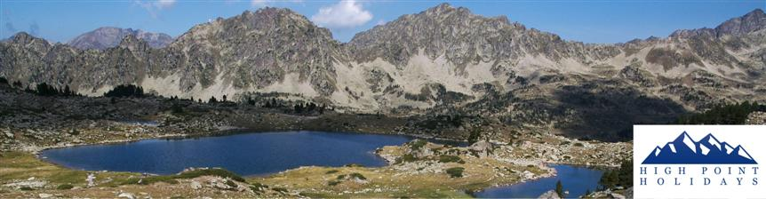 cerdagne independent walking tour pyrenees France with High Point Holidays