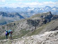 mountain views in queyras France self guided walking tours