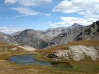 guided walking holiday in French Alps col neal
