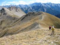 hiking and trekking in queyras France