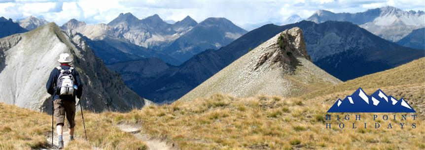 High Point Holidays walking in French alps queyras