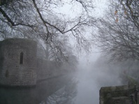 Moat at Bishops Palace