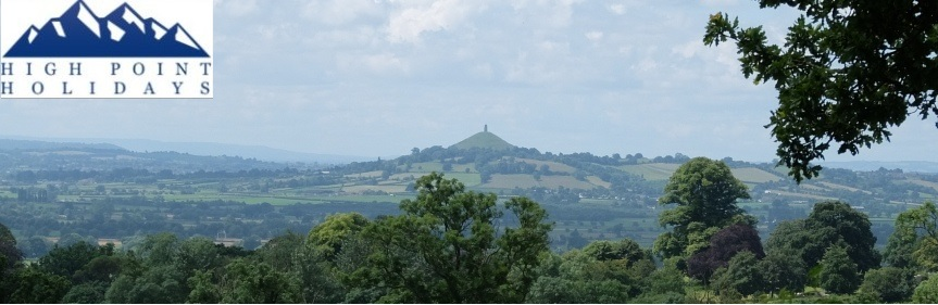 High Point Holidays independent walking holiday in mendips somerset south England UK