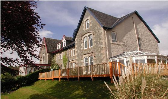 thornloe guest house accommodation scotalnd indpendent walking holiday UK