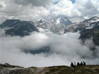 guided walking petit mont Blanc in Vanoise France