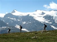 guided walking holiday in alps France