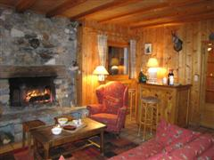 bzeille charming self catering chalet in vanoise France for skiing holiday