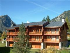 self catering duplex in Pralognan Vanoise in French Alps for skiing and walking holidays