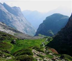 Alpine treks in the Vanoise national park France french alps guided walking holidays