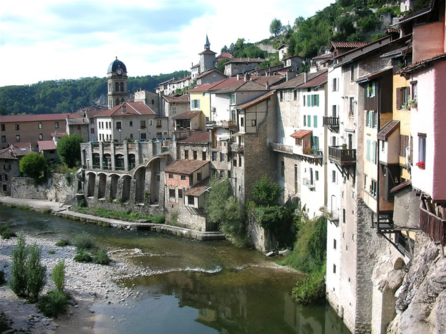 Pont en Royans vercors guided walking holiday France